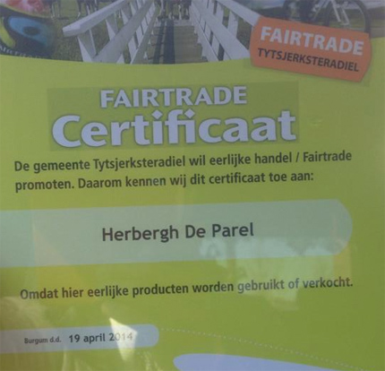 fairtrade certificaat